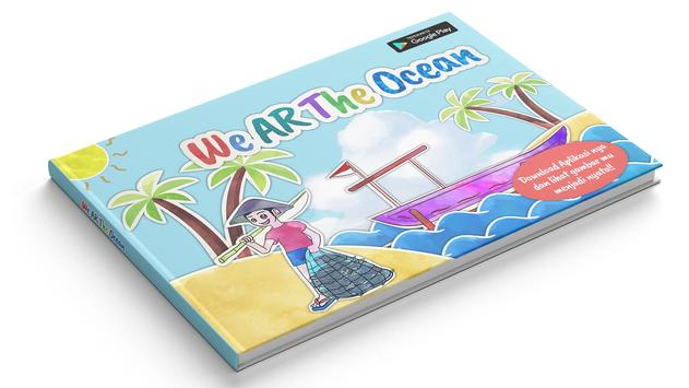 We AR The Ocean poster
