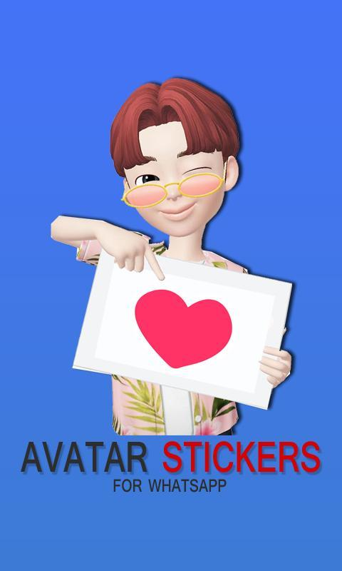 Avatar ZEPETO Stickers for Whatsapp for Android - APK Download