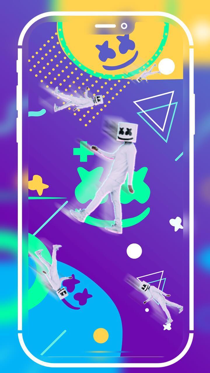 Android 用の Marshmello ライブ壁紙 Apk をダウンロード