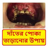 দাঁতে পোকা সমস্যা ~ Tooth Problems Treatment icon
