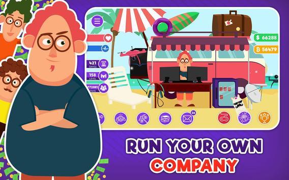 Freelancer Simulator Inc : Game Dev Money Clicker screenshot 1