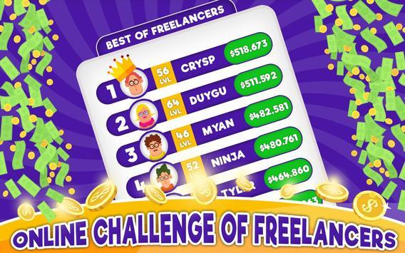 Freelancer Simulator Inc : Game Dev Money Clicker screenshot 7