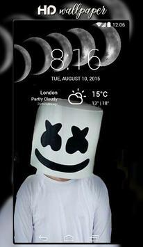 DJ Marshmello Wallpaper screenshot 2