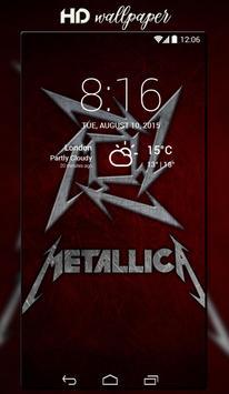 Metallica Wallpaper poster