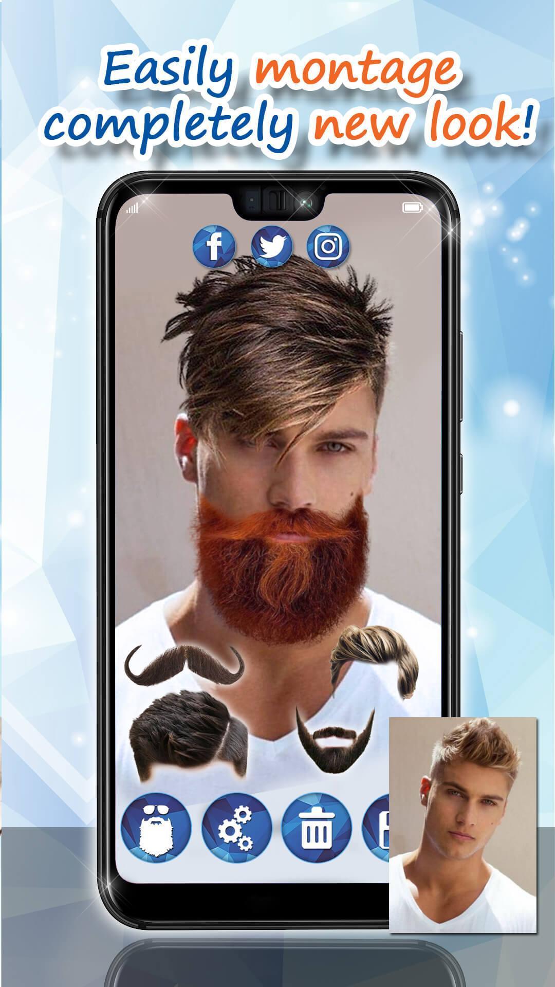 Männer Frisuren 29 👨 Bart Style App Kostenlos für Android ...