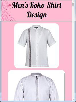Men's Koko Shirt Design poster