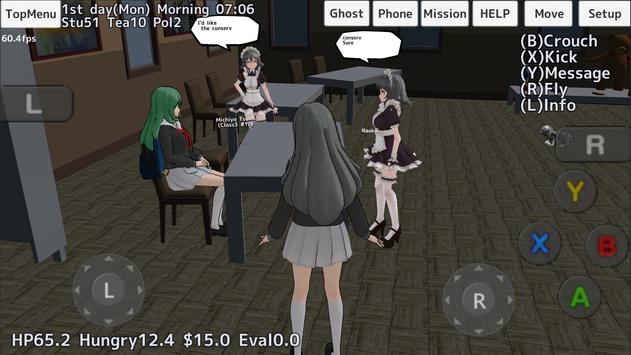 School Girls Simulator screenshot 20