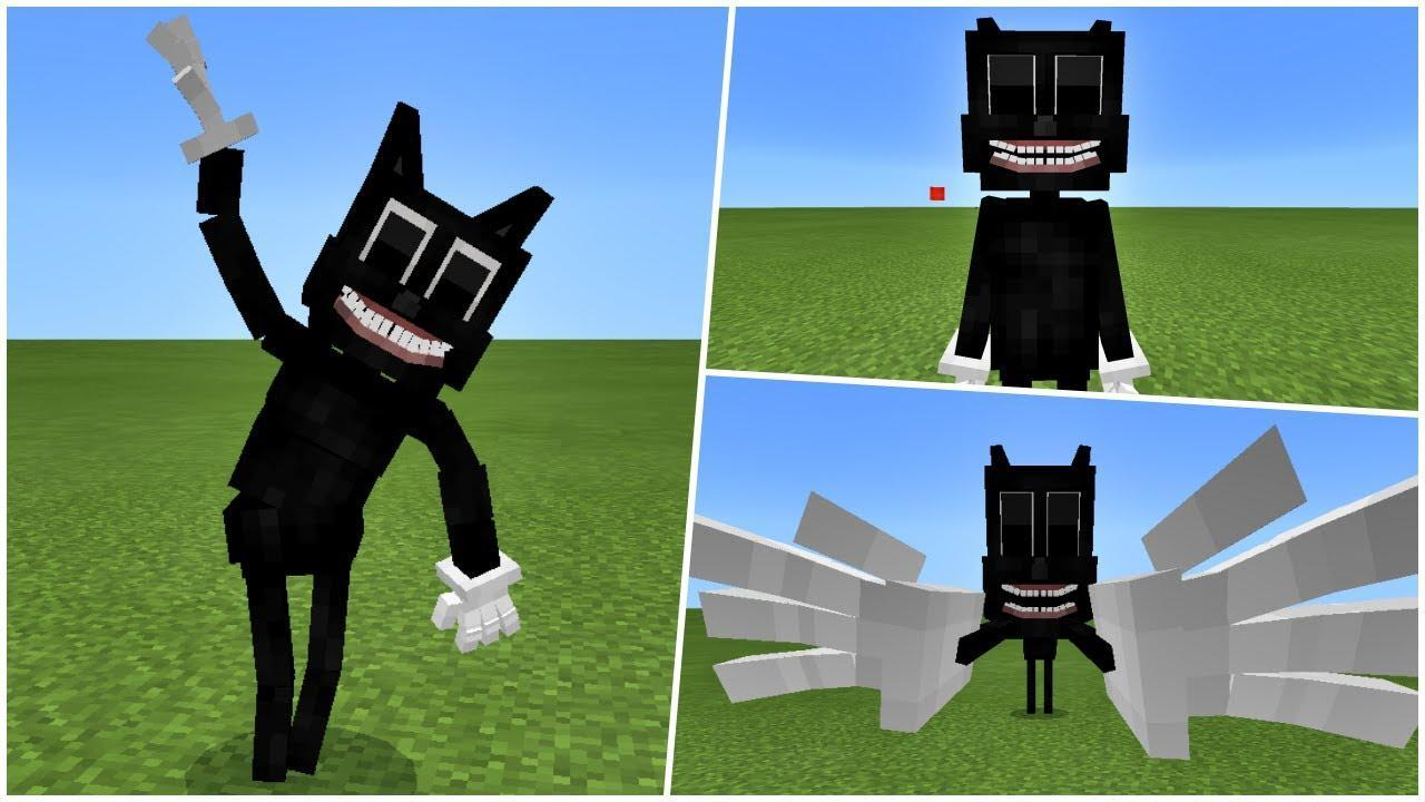 Mod Cartoon Cat For Minecraft Pe Mcpe For Android Apk Download