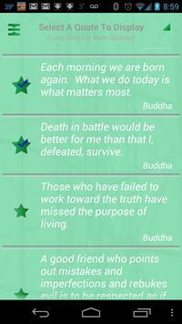Buddha Quotes تصوير الشاشة 2