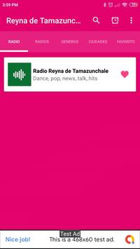 radio reyna de tamazunchale App Mex poster