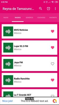 radio reyna de tamazunchale App Mex screenshot 2