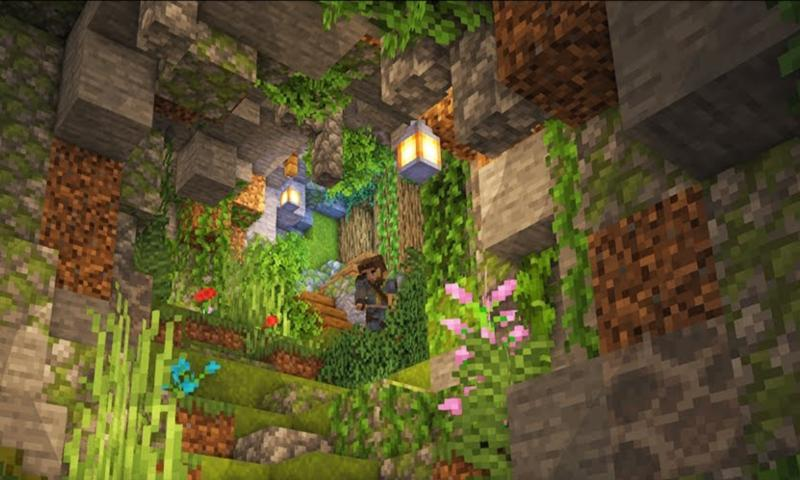Caves And Cliffs Update para Minecraft PE for Android - APK Download