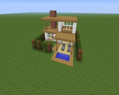 Minecraft House Is Easy To Make For Android Apk Download