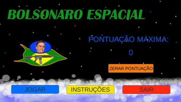 Bolsonaro Espacial poster