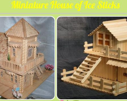 Miniature House of Ice Sticks screenshot 1
