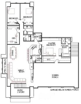 Minimalist Home Plan Designs poster