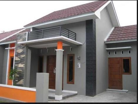 Minimalist Home Terrace Design poster