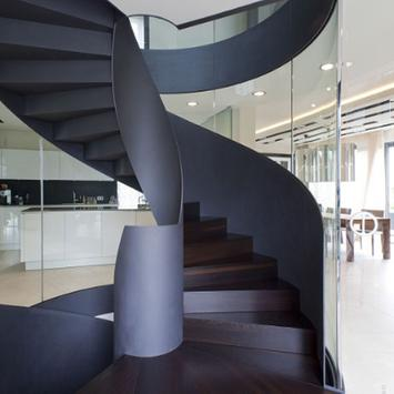 Minimalist  Stair Design poster