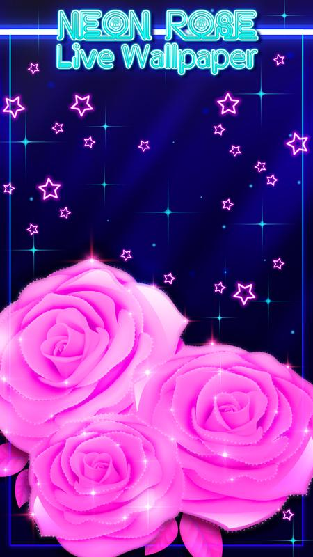 Neon Rose Live Wallpaper For Android Apk Download