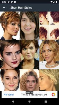 Short Hair Styles screenshot 11