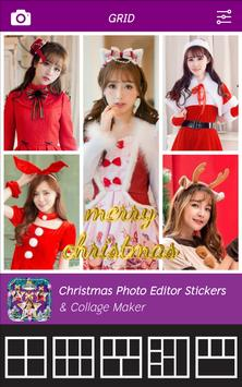 Christmas Photo Editor - Stickers & Collage Maker poster