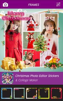 Christmas Photo Editor - Stickers & Collage Maker screenshot 1