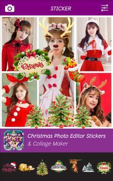 Christmas Photo Editor - Stickers & Collage Maker screenshot 2