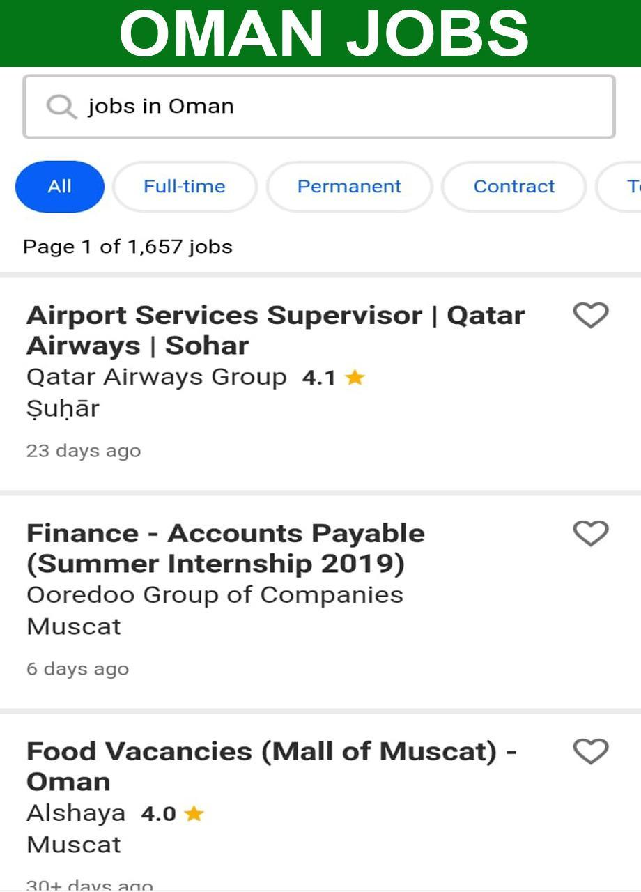 Jobs in Oman 🇴🇲 Muscat Jobs for Android - APK Download