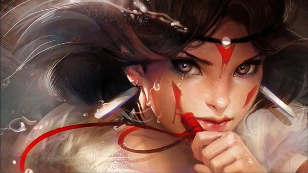 Fantasy Face. Wallpapers screenshot 4