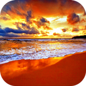 Sunset. Nature Wallpapers icon