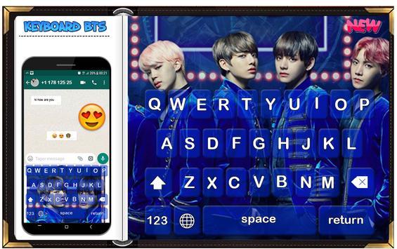 keyboard BTS poster