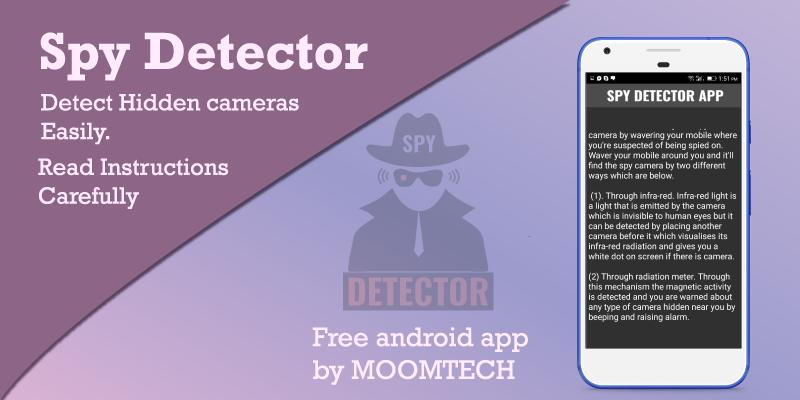 Spy Camera Detector - Hidden Camera Detector for Android