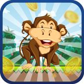 Monkey Run To Banana icon