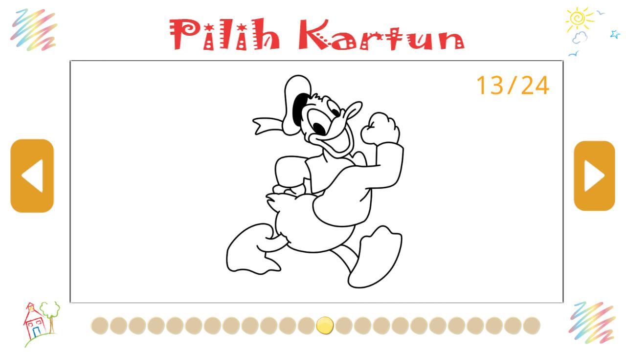 Buku Mewarnai Gambar Untuk Anak Kartun For Android APK