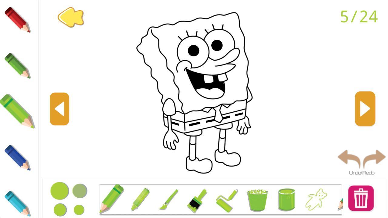Android I§in Buku Mewarnai Gambar Untuk Anak Kartun APK
