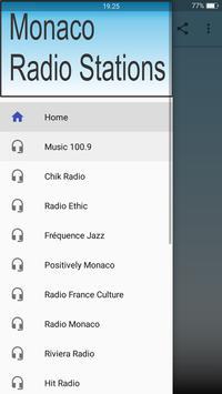 Monaco Radio Stations poster