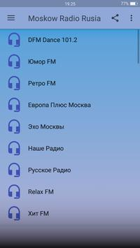 Moskow Radio Rusia screenshot 1