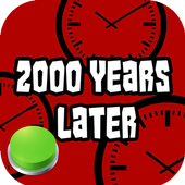 2000 Years Later Meme Button icon