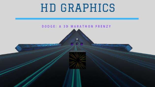 DODGE! A 3D Marathon Frenzy screenshot 2