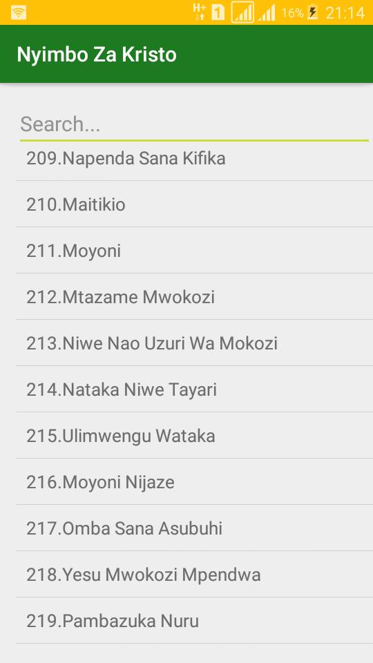 Nyimbo Za Kristo for Android - APK Download