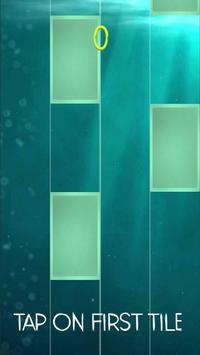 Dangerous - David Guetta - Piano Ocean poster