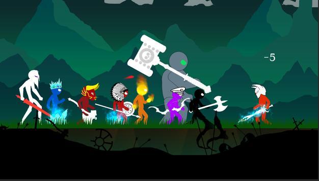 Stick Fight: King of War screenshot 3