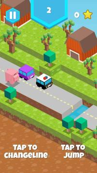 Blocky Pig Runner screenshot 3