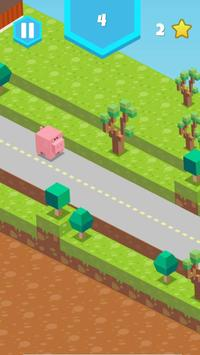 Blocky Pig Runner screenshot 2