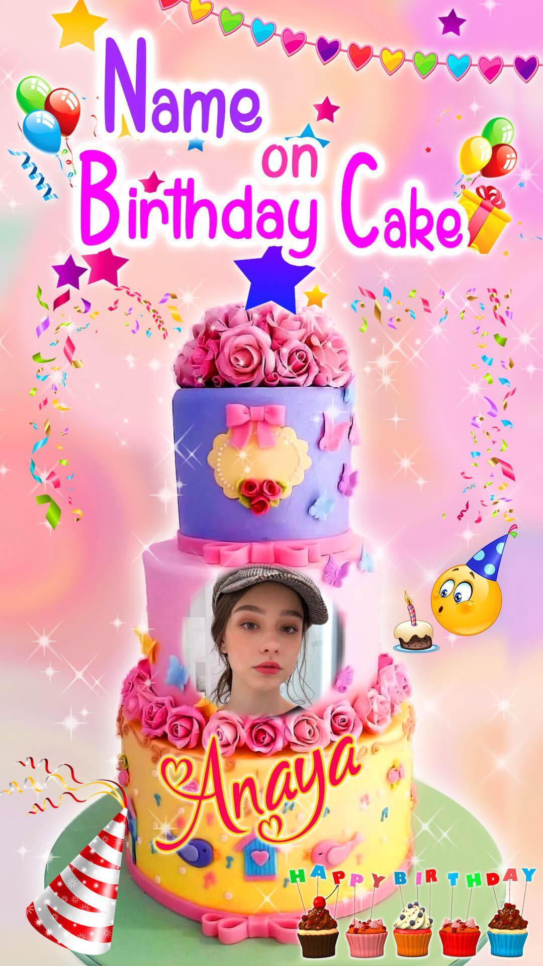 Nama Pada Kue Ulang Tahun Nama Pada Foto For Android Apk Download