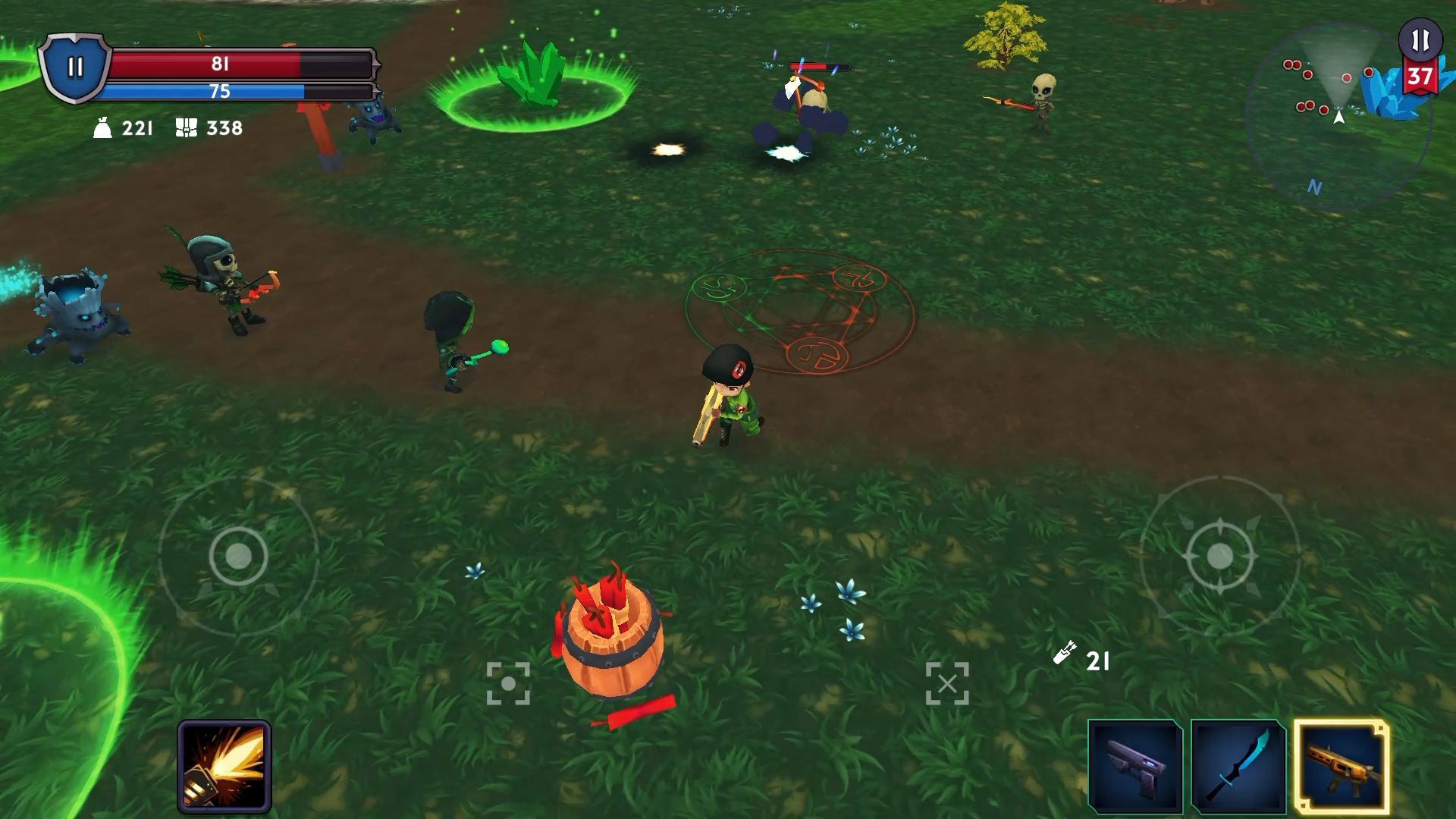 Reincarnated Souls: Top down shooter RPG (LAN) para Android - APK Baixar