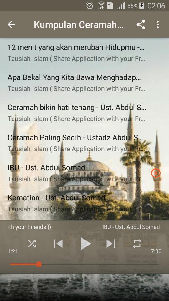 Download Ceramah Sedih Ustadz Abdul Somad - Gambaran