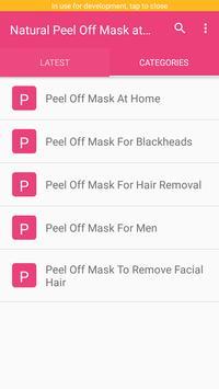 Natural Peel Off Mask at Home screenshot 2