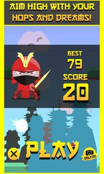 Hop Hop Ninja! screenshot 1