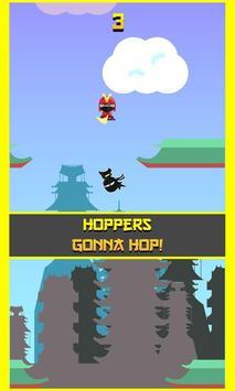 Hop Hop Ninja! screenshot 4